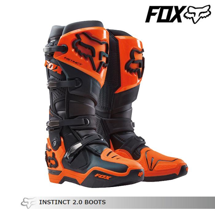 FOX RACING 〔WEB価格〕INSTINCT【インスティンクト】2.0 ブーツ