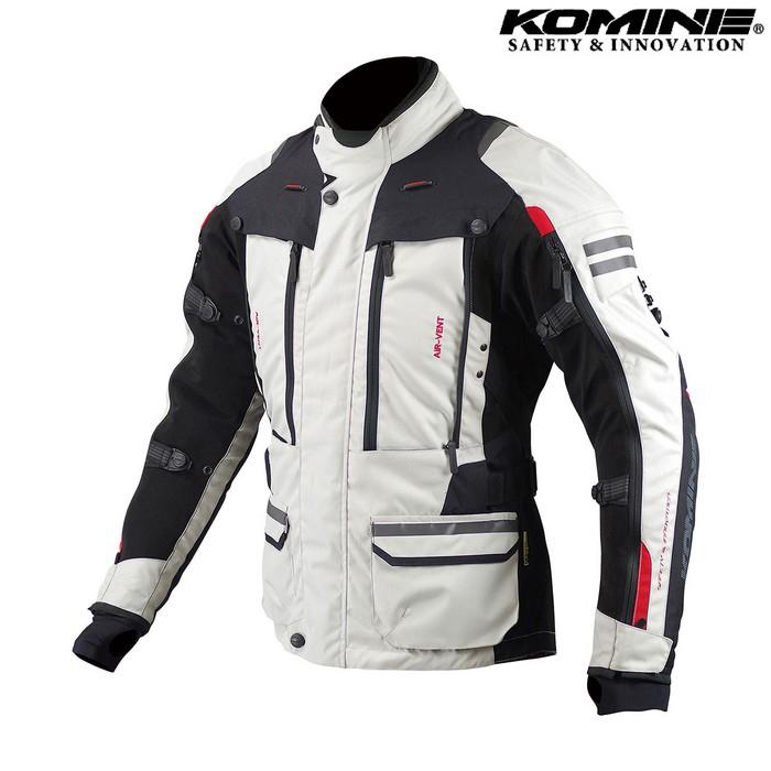 JK-574 フルイヤーツーリングジャケット RAMA II 『ラーマ2』  透湿防水 アイボリー/ブラック ◆全2色◆