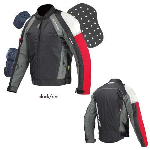 〔WEB価格〕 JK-575 ウインタージャケット FORZAX II 『フォルザックス2』 防寒 着脱保温インナー付 ブラック/レッド ◆全3色◆