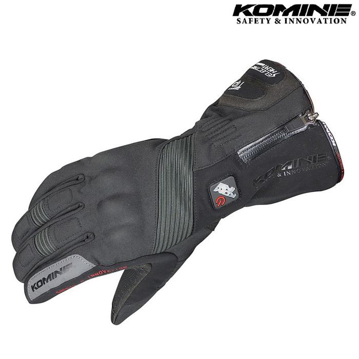 komine GK-804 エレクトリックヒートグローブ 『カシウス』 ブラック ◆全2色◆