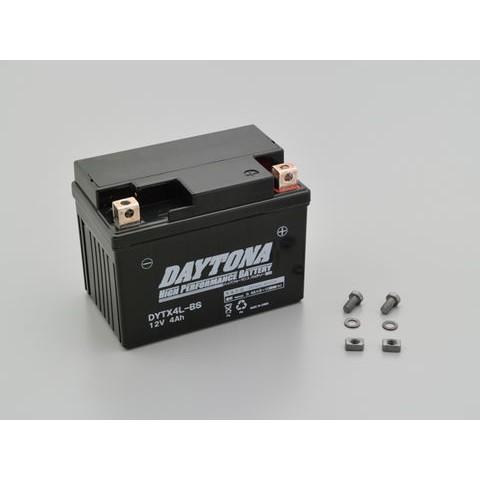 DAYTONA 92874 ハイパフォーマンスバッテリー【DYTX4L-BS】MFタイプ