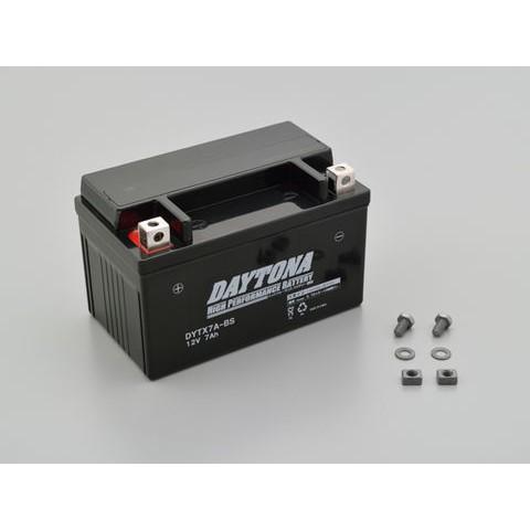 DAYTONA 92878 ハイパフォーマンスバッテリー【DYTX7A-BS】MFタイプ