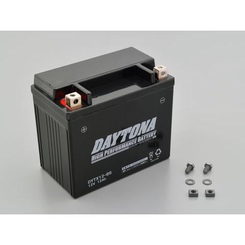 DAYTONA 92885 ハイパフォーマンスバッテリー【DYTX12-BS】MFタイプ