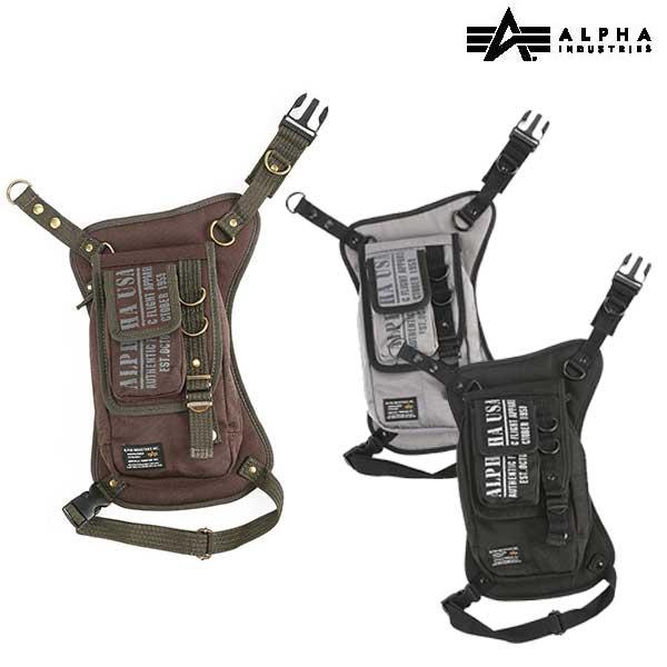 ALPHA ALVB-1505 『モーターサイクルライン』レッグポーチ