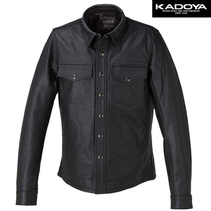 KADOYA 〔WEB価格〕L-SHIRT レザーシャツ