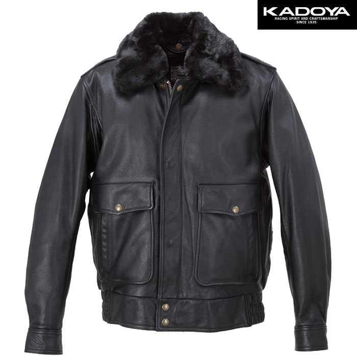 KADOYA BBJ-2 レザージャケット 防寒 防風