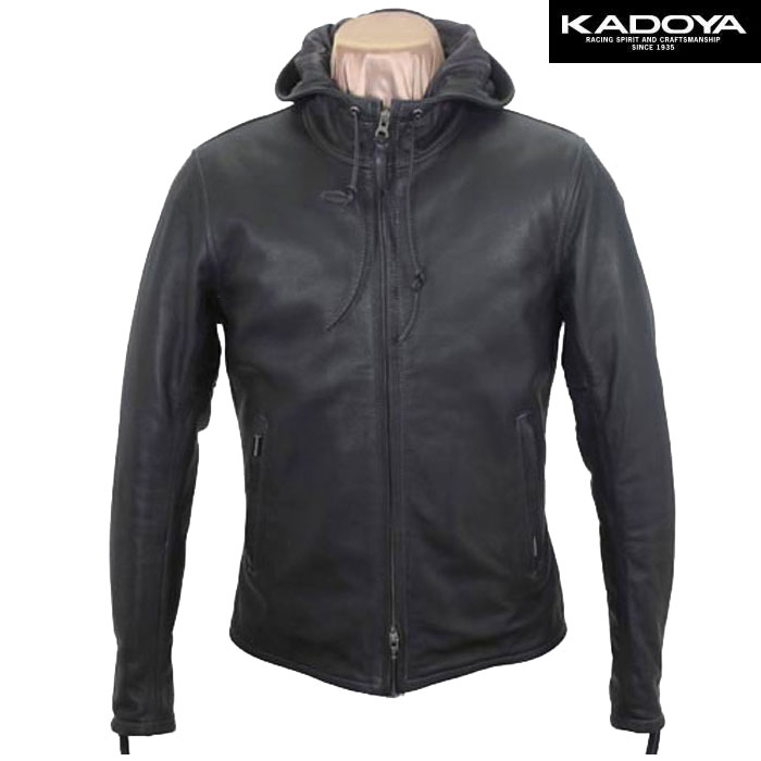 KADOYA LEATHER PARKA(レザーパーカー)