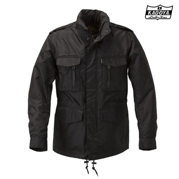 KADOYA 〔WEB価格〕6547 M-65RR ウインタージャケット ブラック◆全2色◆