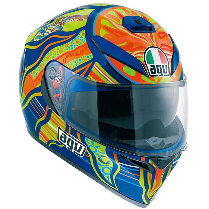 AGV 【通販限定】『アウトレット品』K-3 SV ヘルメット FIVE CONTINENTS【ファイブ コンチネンツ】 フルフェイス ヘルメット