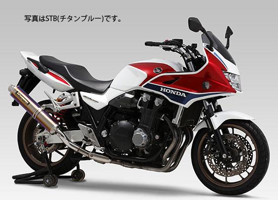 YOSHIMURA JAPAN Slip-On サイクロンLEPTOS 政府認証 SS CB1300SB 2014年~