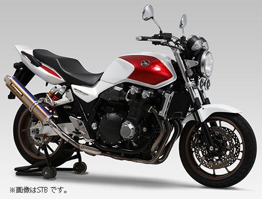 YOSHIMURA JAPAN Slip-On サイクロンLEPTOS 政府認証 SS CB1300SF '14~