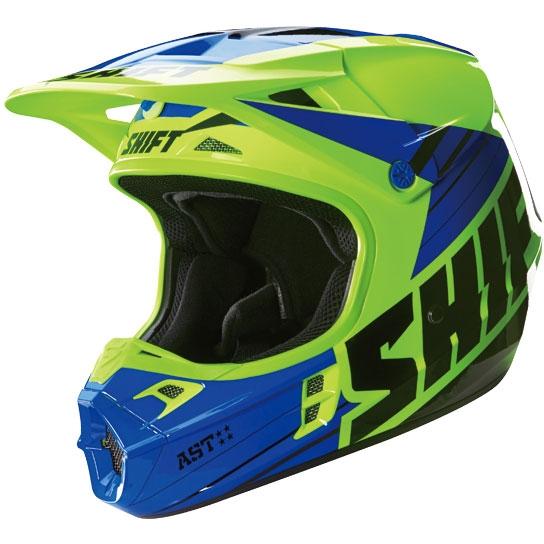 SHIFT 2017年モデル アザルトヘルメット