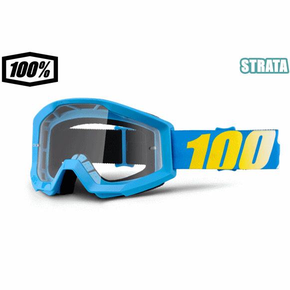 100% 17モデル ゴーグル STRATA 【ストレータ】 BLUE