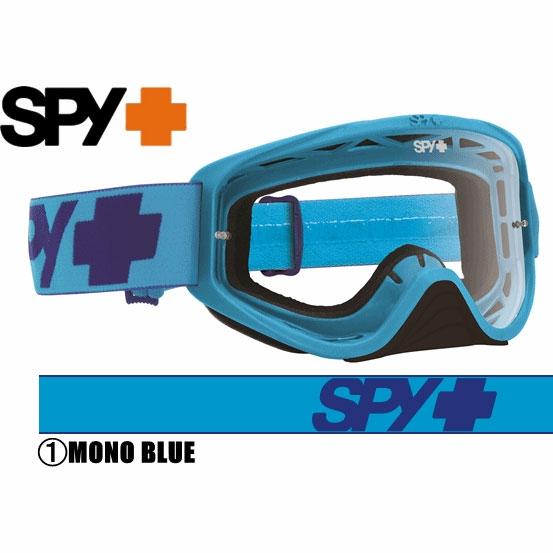 スパイ 〔WEB価格〕2016年モデル WOOT ゴーグル MONO BLUE