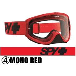 スパイ 〔WEB価格〕2016年モデル WOOT ゴーグル MONO RED