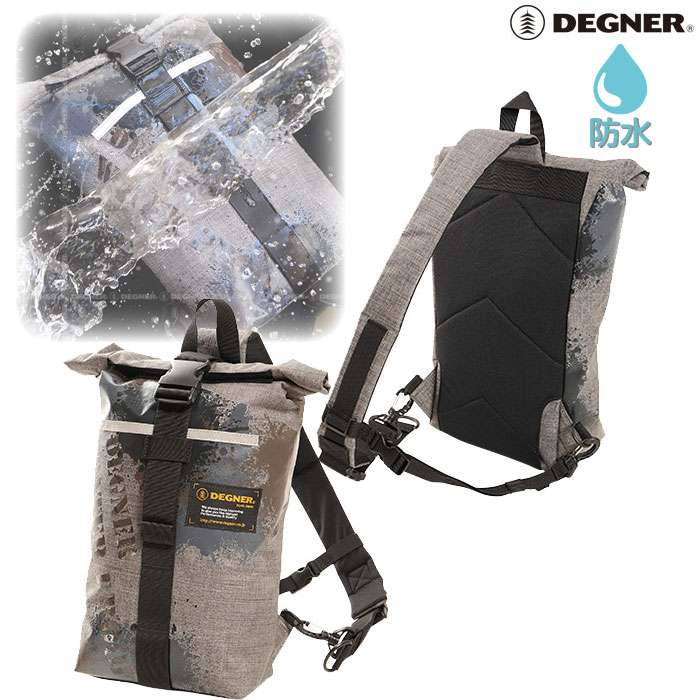 DEGNER NB-105 防水ワンショルダーバッグ