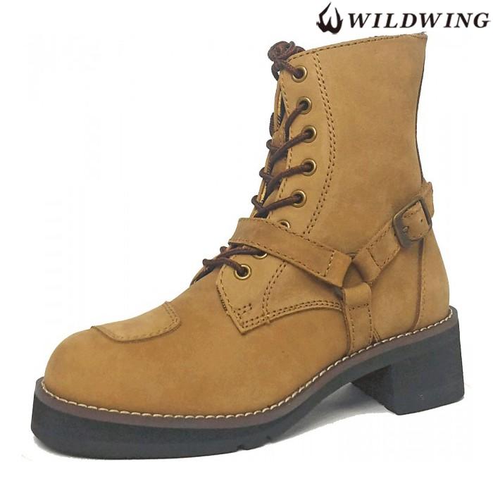 WWM-0001ATU ファルコン  ライディングブーツ 厚底 クレイジーブラウン ◆全4色◆