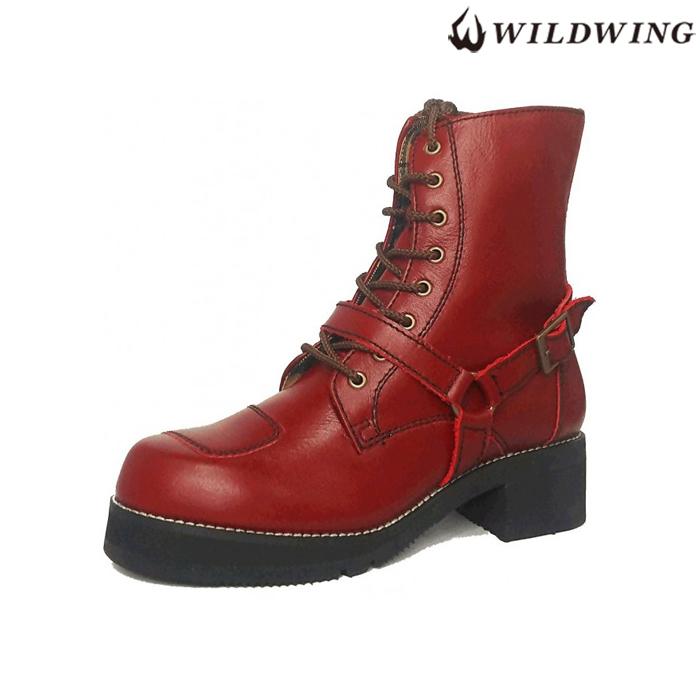WIN GLOVE WWM-0001ATU  ライディングブーツ 厚底ファルコン ワインレッド ◆全4色◆