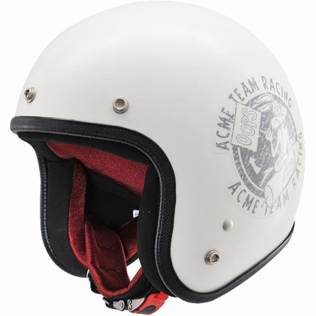 DAYTONA オリジナルジェットヘルメット DA01LT01 ワイリーコヨーテ