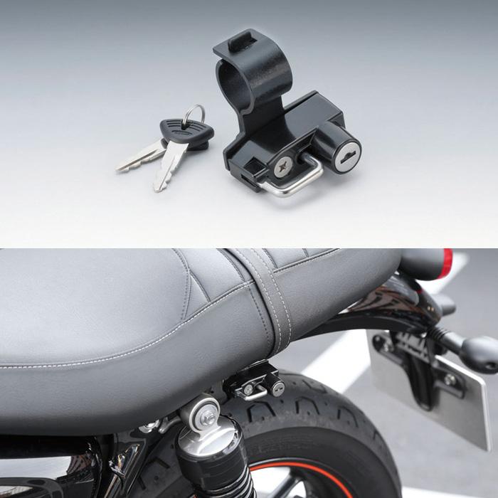KIJIMA 〔WEB価格〕 ヘルメットロック  T100/ストリートツイン/スクランブラー
