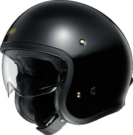 SHOEI ヘルメット J・O【ジェイ・オー】 ジェットヘルメット ブラック