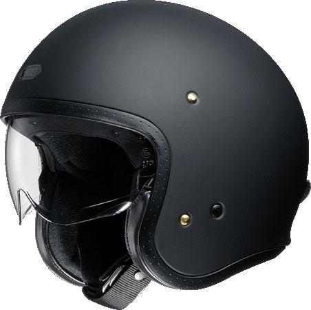 SHOEI ヘルメット J・O【ジェイ・オー】 ジェットヘルメット マットブラック