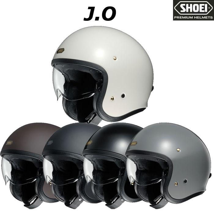 SHOEI ヘルメット J・O【ジェイ・オー】 ジェットヘルメット  ☆MONOマガジン2020年3月16日号掲載☆