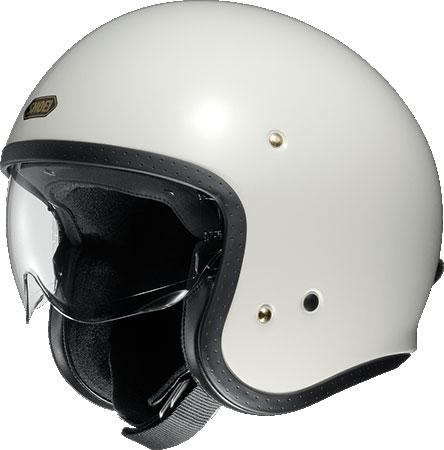 SHOEI ヘルメット J・O【ジェイ・オー】 ジェットヘルメット オフホワイト