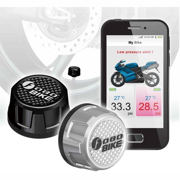 YAZAWA タイヤ空気圧モニタリングシステムTPMS 【FOBO BIKE(フォボバイク)】