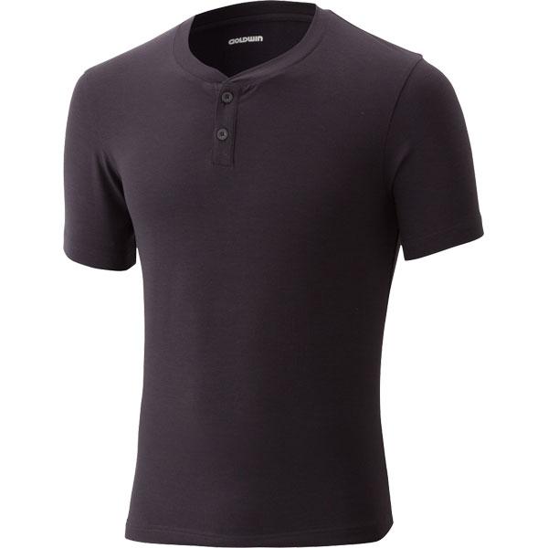 GOLDWIN マキシフレッシュプラスヘンリーネックTシャツ