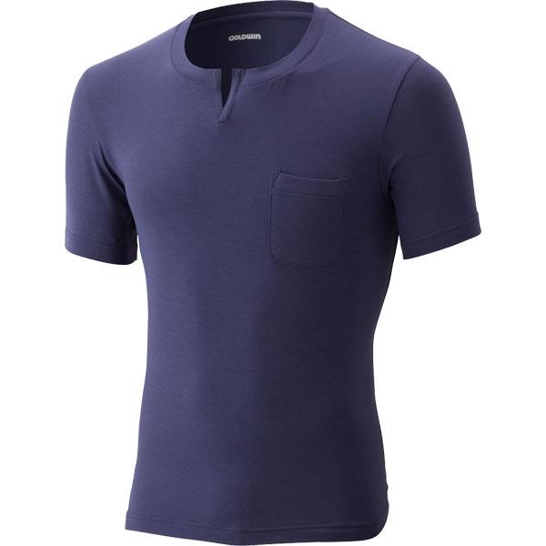 GOLDWIN マキシフレッシュプラスVネックシャツ
