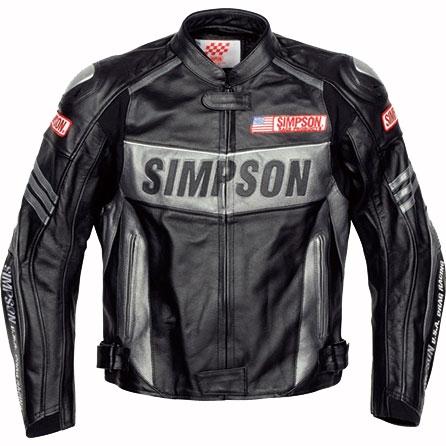 SIMPSON 【限定1点】レザージャケット ブラック Mサイズ