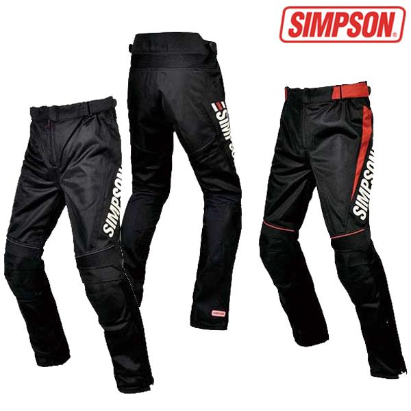 SIMPSON 【WEB限定】SMP-6111 メッシュパンツ