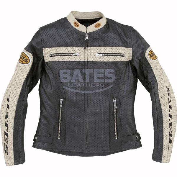 BAJ-L147 レディース 2WAY パンチングレザージャケットブラック◆全2色◆