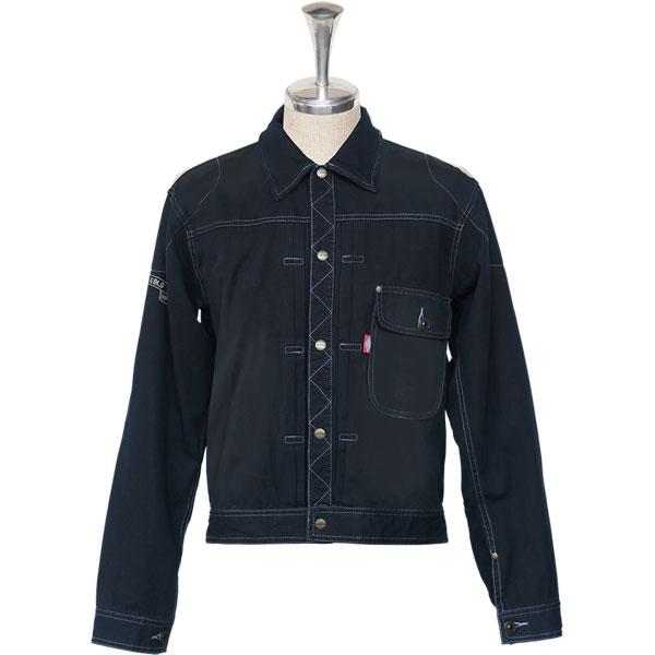 JAMS GOLD 【アウトレット】JAMS GOLD ライディングシャツ 『BURRELL START』 ブラック