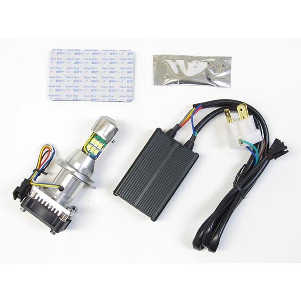 Protec LEDヘッドライトバルブキット LB4-R H4R Hi/Lo