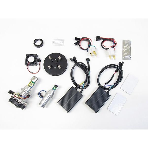 Protec LEDヘッドライトバルブキット LBW-TM H7(Lo)&H4(Hi/Lo)