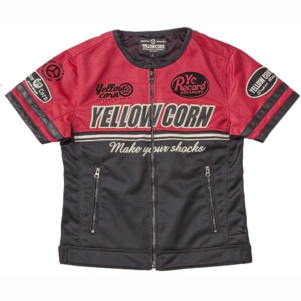 Yellow Corn YB-6117T メッシュTシャツ
