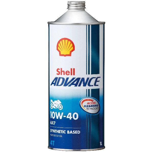 Shell ADVANCE 4T AX7 10W-40 SM/MA2