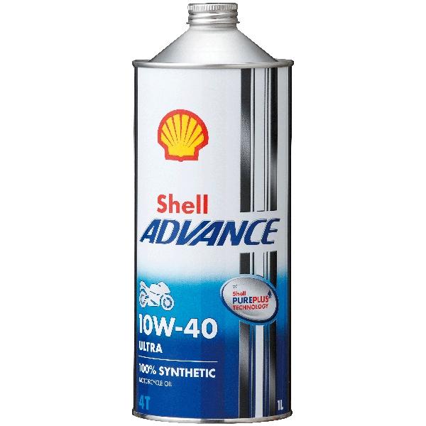 Shell ADVANCE 4T ULTRA 10W-40 SN/MA2