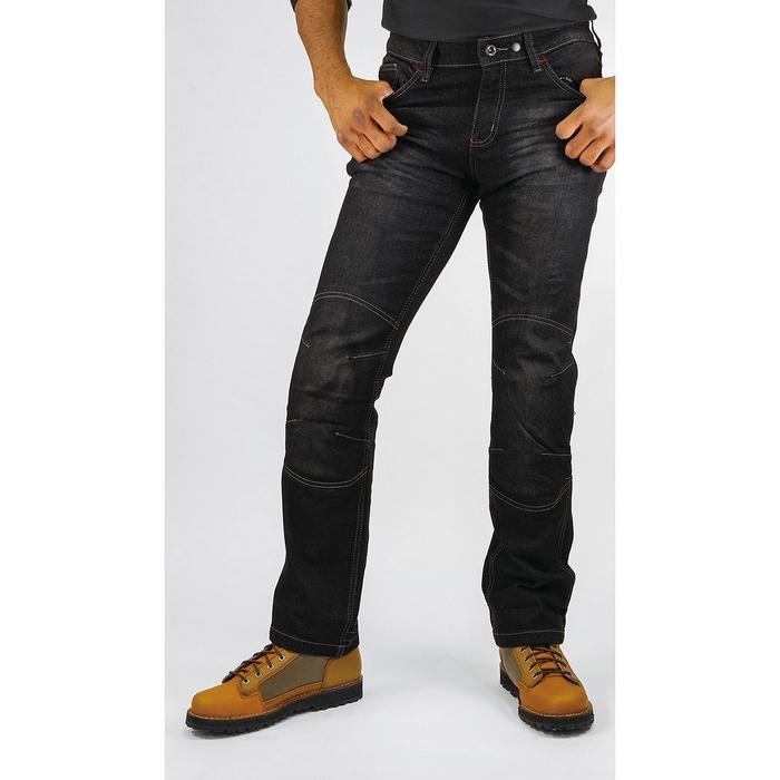 komine 大きいサイズ  WJ-732R プロテクトライディングジーンズ ブラック◆全2色◆