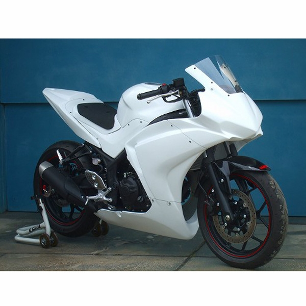 Clever Wolf Racing フルカウル【upper and lower fairing】