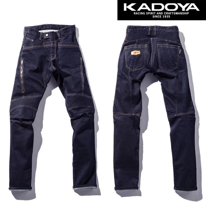 KADOYA KJ-01 RS KJ-01 RS ファブリックパンツ デニム 春夏用