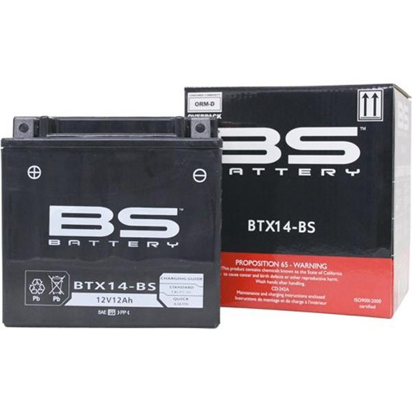 BS-Battery BSバッテリー 液別 YTX14-BS互換タイプ