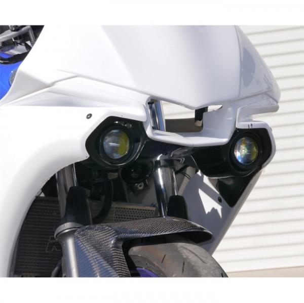 才谷屋ファクトリー R1-Type シュラウド&ライトステー プロテックLEDドライビングライト用