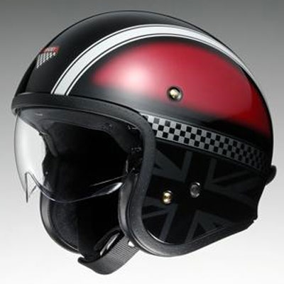 SHOEI ヘルメット J・O (ジェイ・オー) HAWKER (ホーカー) ジェットヘルメット ★受注生産サイズ★
