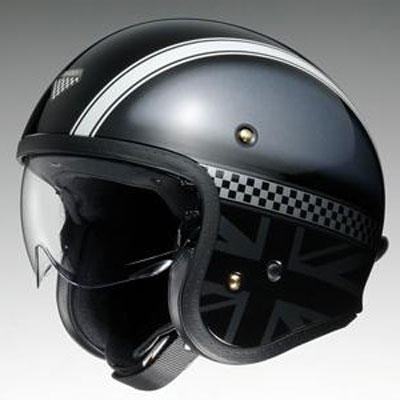 SHOEI ヘルメット J・O (ジェイ・オー) HAWKER (ホーカー) ジェットヘルメット