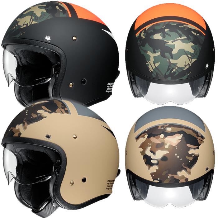 SHOEI ヘルメット 【WEB限定】J・O (ジェイ・オー) SEAFIRE (シーファイアー) ジェットヘルメット