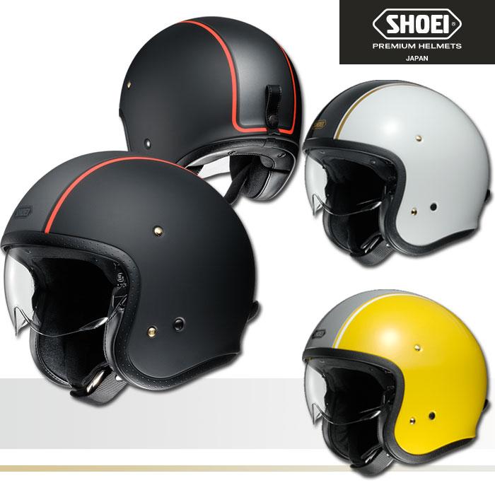 SHOEI ヘルメット 〔在庫限り〕J・O CARBURETTOR【ジェイ・オー キャブレター】ジェットヘルメット