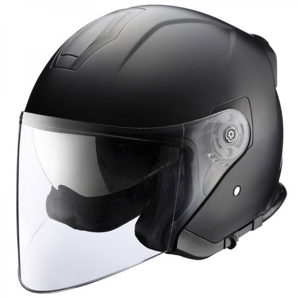 RIDEZ 【通販限定】HPジェットヘルメット インナーバイザー装備